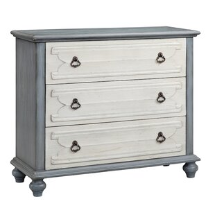 Louviere 3 Drawer Accent Chest