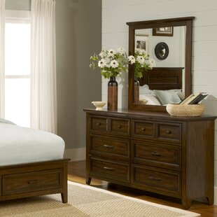Great choice Mortemart 6 Drawer Dresser with Mirror by August Grove