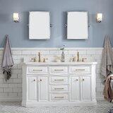 Oliphant Quartz 60 Double Bathroom Vanity by House of Hampton®