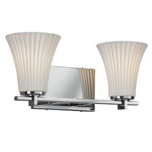Darby Home Co Gudruna 2-Light LED Vanity Light