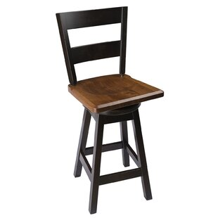 Byxbee 36 Swivel Bar Stool Loon Peak