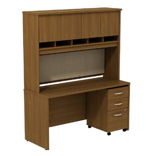 Look for Series C Desk with Hutch by Bush Business Furniture