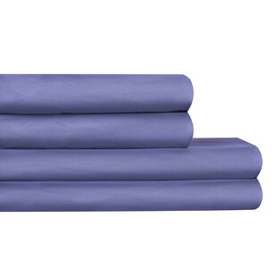Tetbury Comfort 160 Thread Count Solid Color 100% Cotton Sheet Set