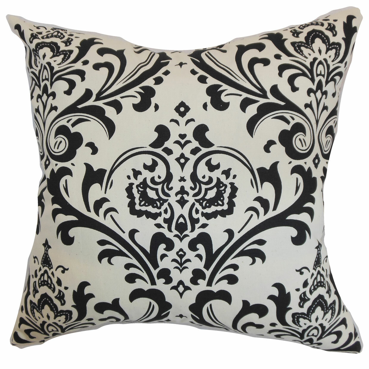 Rosdorf Park Kiara Damask Floor Pillow Wayfair