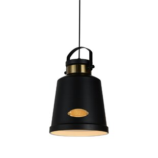 Biella 1-Light LED Bell Pe..