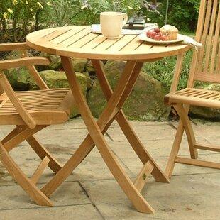 Three Birds Casual Cambridge Folding Teak Dining Table