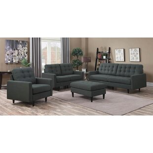 Fabrizio 4 Piece Living Room Set by George Oliver