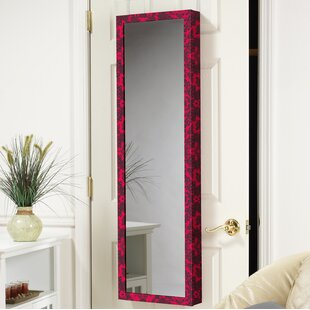 Nye Over The Door Jewelry Armoire With Mirror