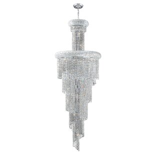 Carson 22-Light Crystal Chandelier