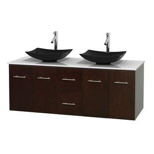 Centra 60 Double Bathroom Vanity Set