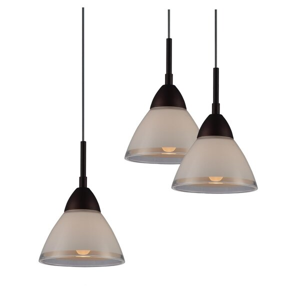 Latitude Run Funsch 3 Light Cluster Cone Pendant Wayfair
