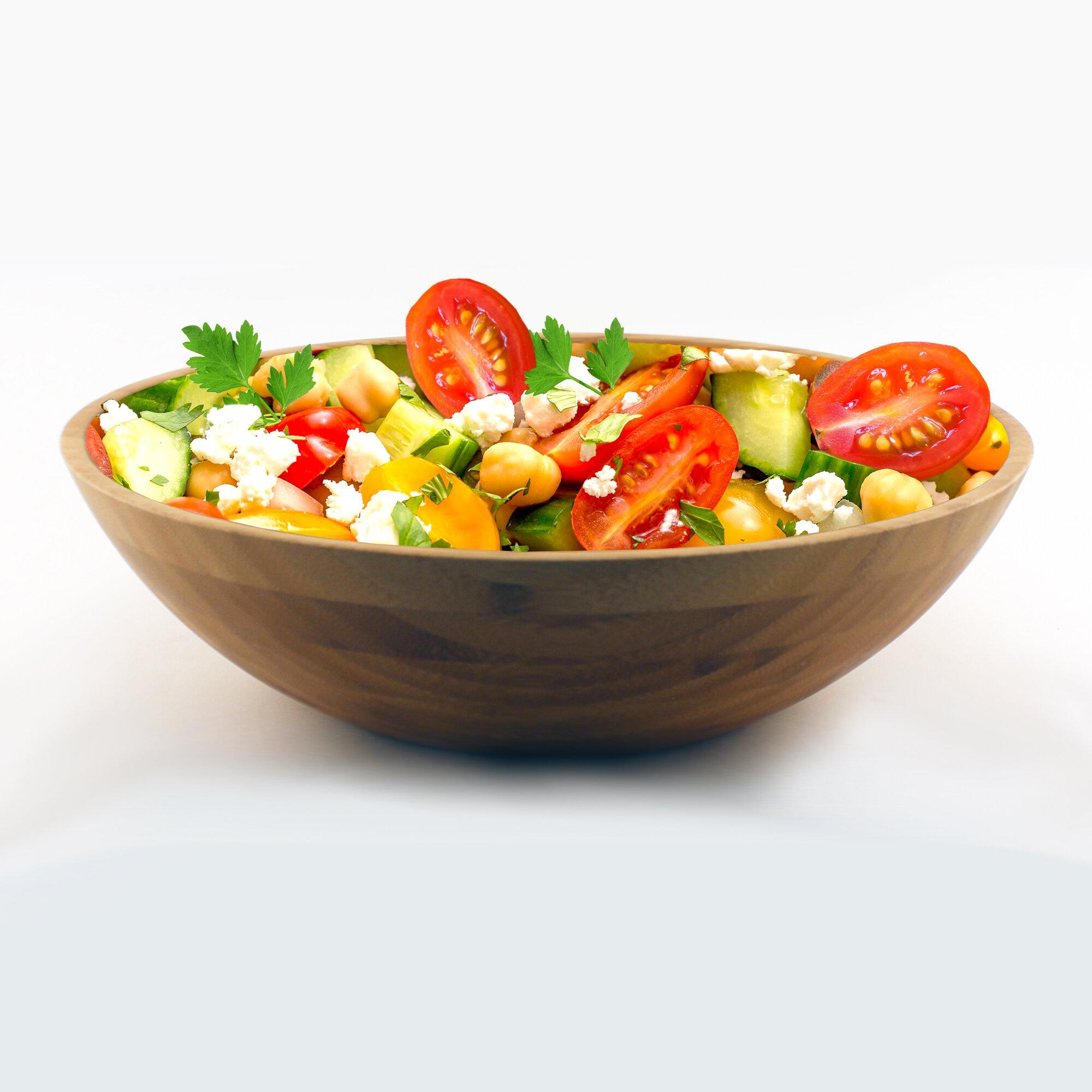 George Oliver Deandres 393 97 Fl Oz Salad Bowl Wayfair