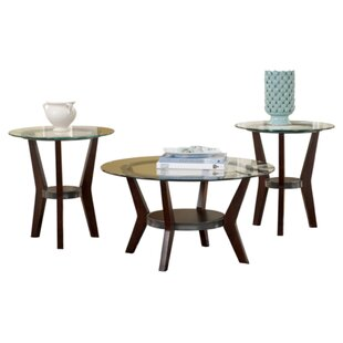 George Oliver Canaday 3 Piece Coffee Table Set