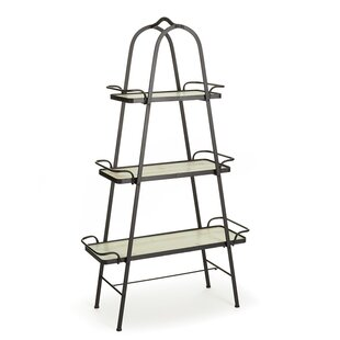 Wood And Glass Shelving Unit | Wayfair