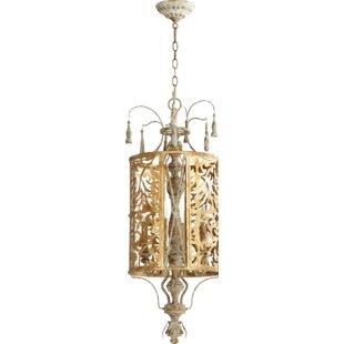 Quorum Leduc 4-Light Lantern Pendant