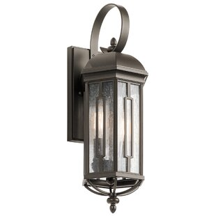 Affordable Sasakwa 2-Light Outdoor Wall Lantern By Loon Peak