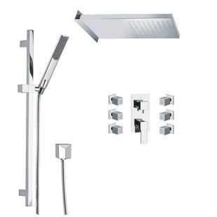 Remer by Nameek's Raniero Diverter Shower Faucet with Body Spray