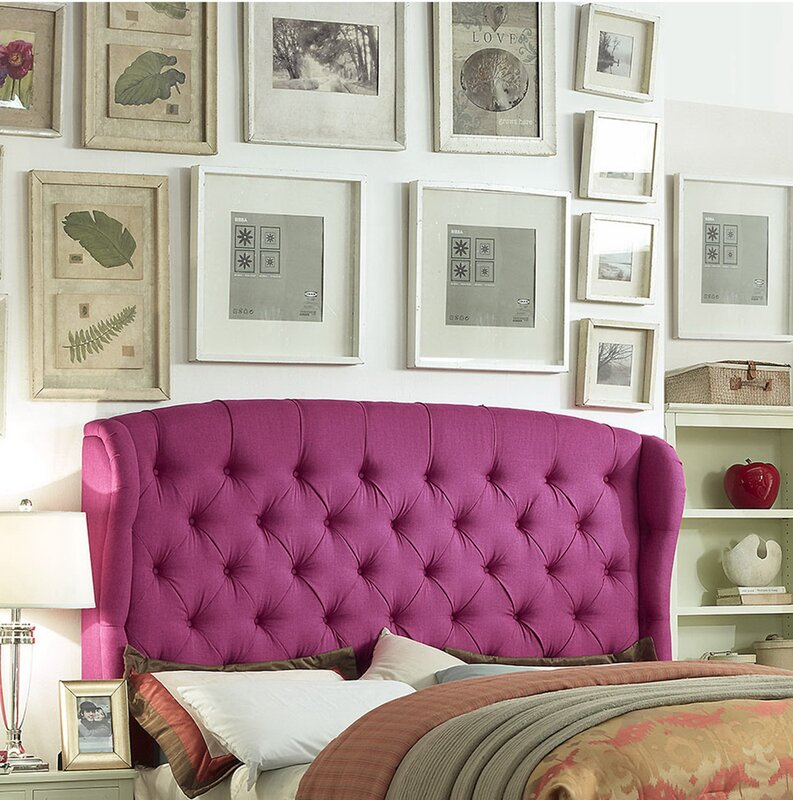 Seattle Upholstered Panel Bed & Reviews | Joss & Main