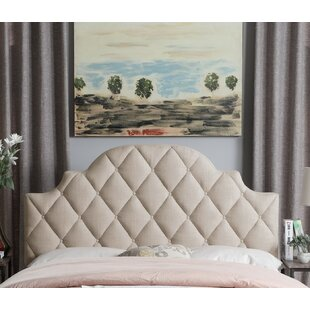 Everly Quinn Aderyn Upholstered Panel Headboard