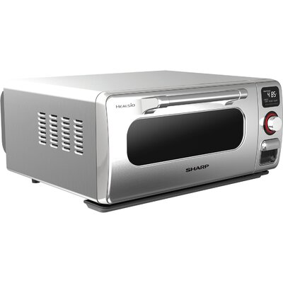 05 Cu Ft 9 Slice Superheated Steam Countertop Oven Sharp