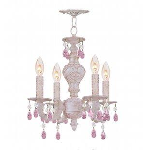 Viv + Rae Odessa 4-Light Candle Style Chandelier