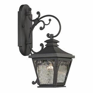 Best Bearfield 1-Light Outdoor Wall Lantern By Fleur De Lis Living