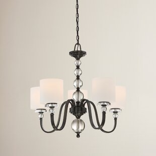House of Hampton Christena 5-Light Shaded Chandelier