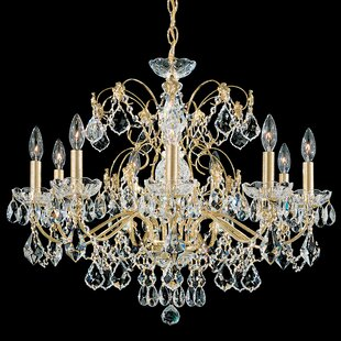 Century 9-Light Chandelier..