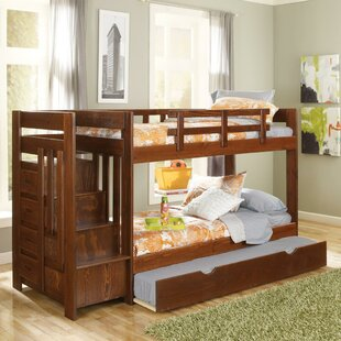Reviews Twin over Twin Bunk Bed with Trundle and Reversible Stair by Chelsea Home Reviews (2019) & Buyer's Guide