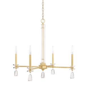 Mercer41 Tera 4-Light Candle Style Chandelier