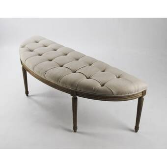 Ophelia Co Cedarburg Upholstered Bench Reviews Wayfair
