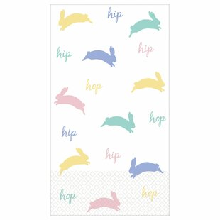 Easter Bunny Paper Disposable Party Favors (Set Of 256) by Amscan Savings