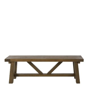 Bearpaw Wood Bench By Union Rustic
