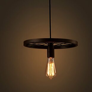 Williston Forge Andreasen 1-Light Bulb Pe..
