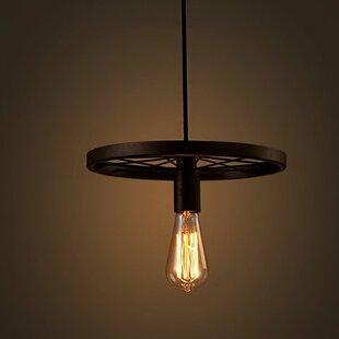 Williston Forge Andreasen 1-Light Bulb Pendant