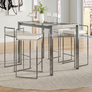 Gary 5 Piece Counter Height Dining Set Wade Logan