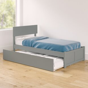 Amodio Twin Platform Bed with Urban Trundle