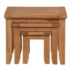3-tlg. Satztisch-Set Cotswold von Hallowood Furniture
