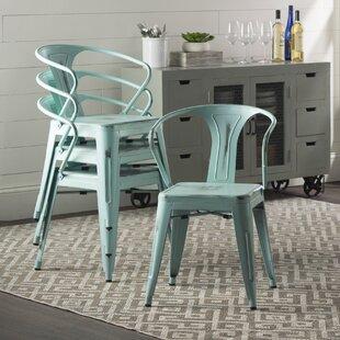 Trent Austin Design Ellery Metal Arm Chair (Set of 4)