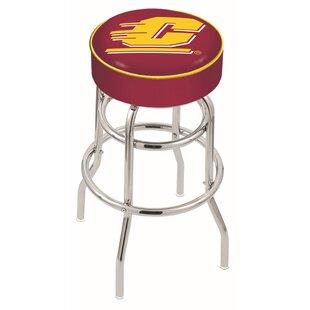 NCAA Swivel Counter and Bar Stool