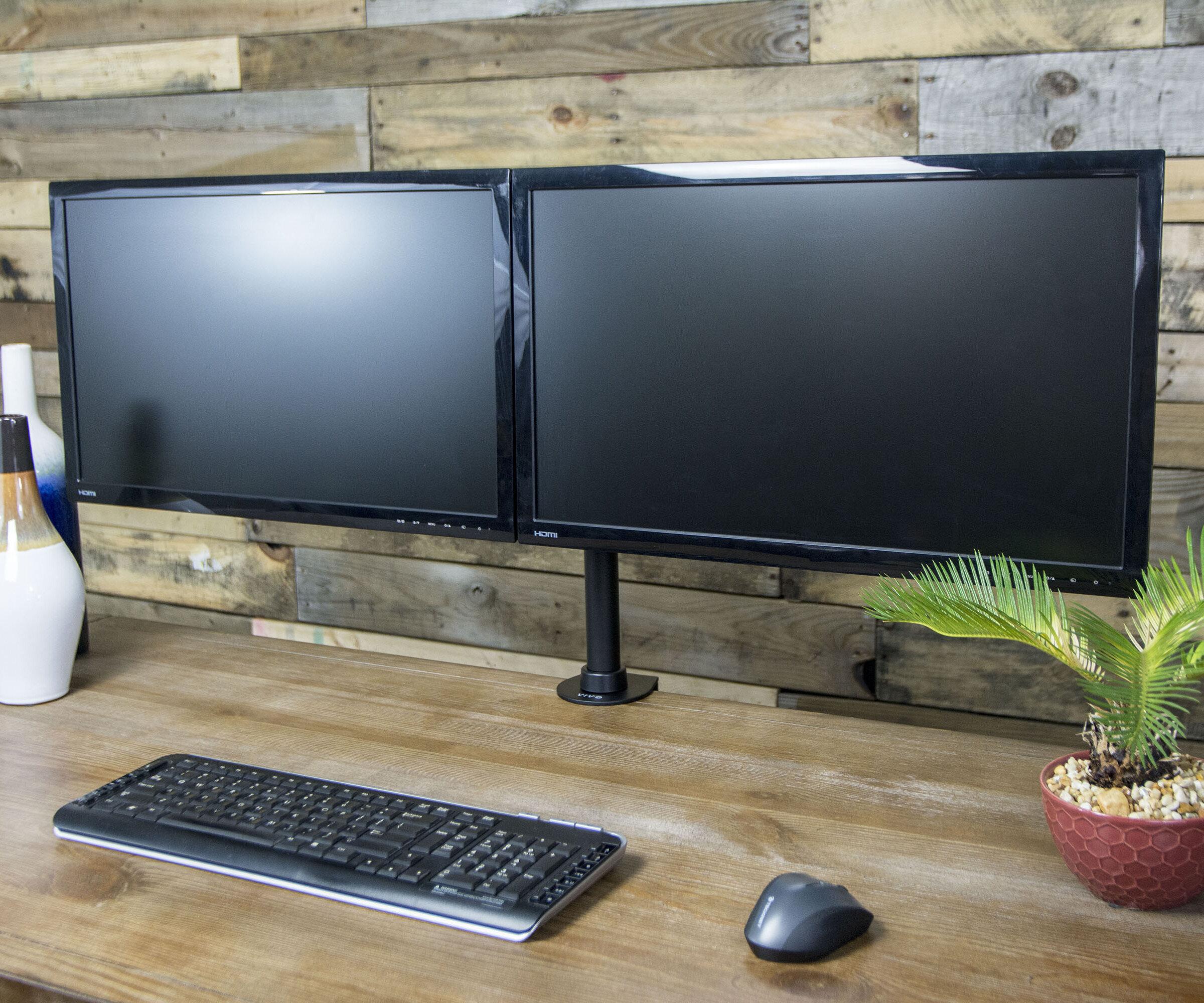 Pleasant Dual Monitor 27 Array Desk Mount Download Free Architecture Designs Xoliawazosbritishbridgeorg