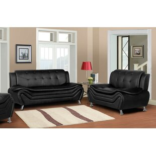 Low priced Sifford 2 Piece Living Room Set by Orren Ellis Reviews (2019) & Buyer's Guide