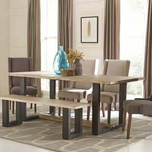 Paulornette Wooden Dining Table by Union ..