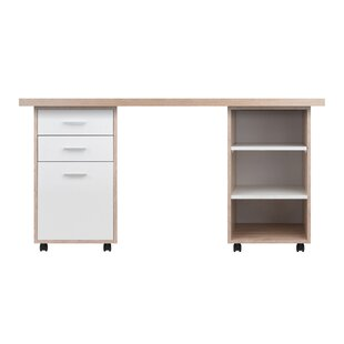 Ebern Designs Midway 3 Piece Desk Office Suite