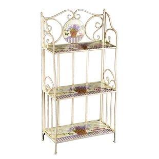 Lavender Etagere Bookcase
