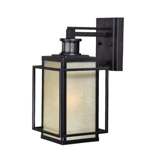 Read Reviews Guinn Dualux® 1-Light Outdoor Wall Lantern By Brayden Studio