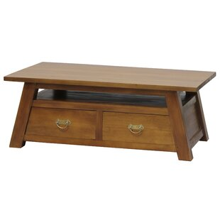 Sylas Fine Handcrafted Solid Mahogany Wood Coffee Table