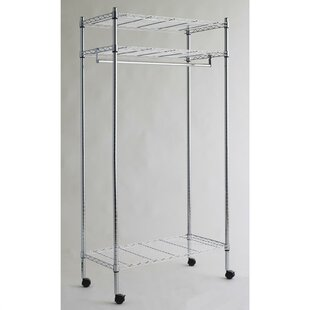 Brindisi 91cm Clothes Rack By Symple Stuff