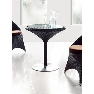 Party Glass Dining Table by 100 Essentials