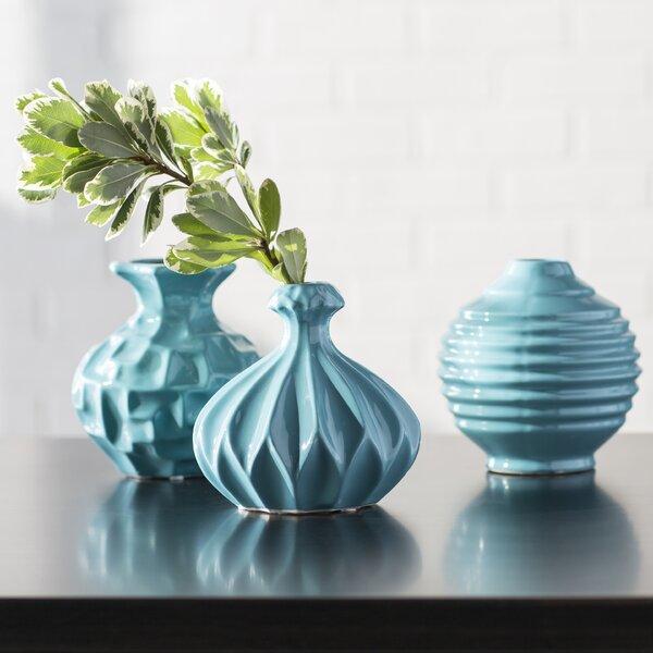 Set Of Three Vases Wayfair
